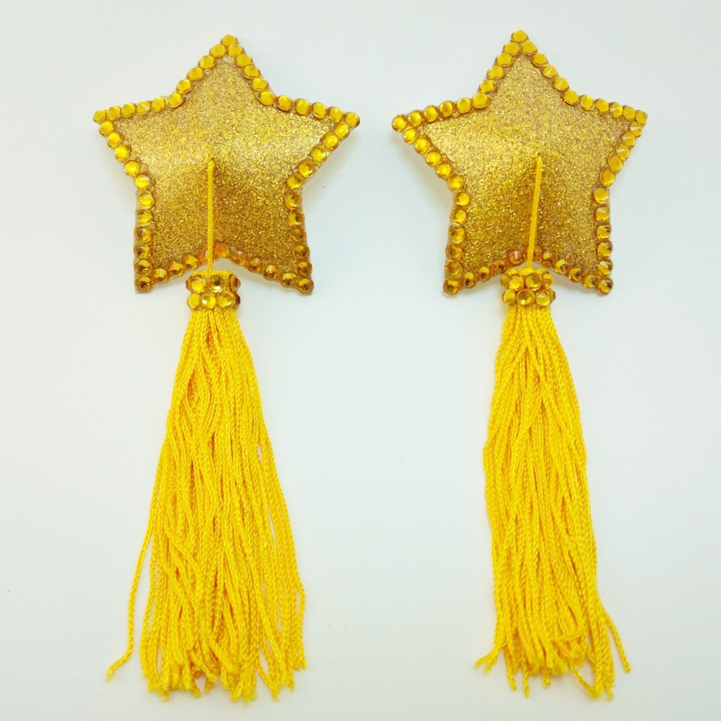 Star yellow tassel