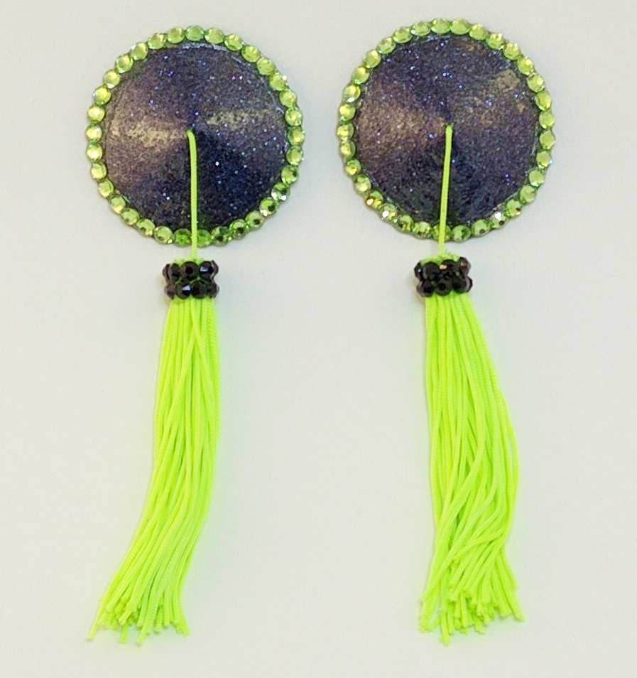 Tassel black green