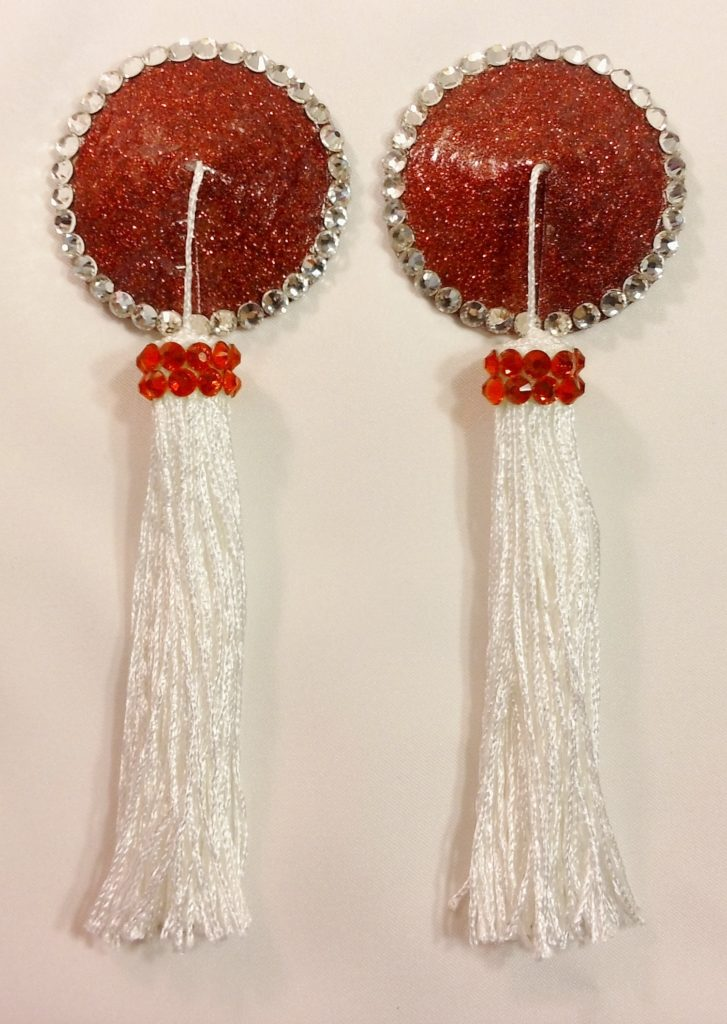 Tassel red white